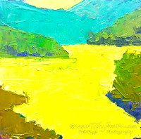 Chartreuse Lake 6x6